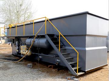 食品废水一体化气浮机