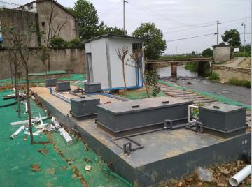 四川省80方农村生活一体化污水处理设备