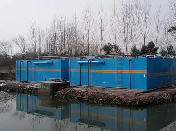 安徽紫蓬山景区1000方污水处理设备