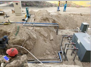 新疆喀什某学校废水一体化污水处理设备
