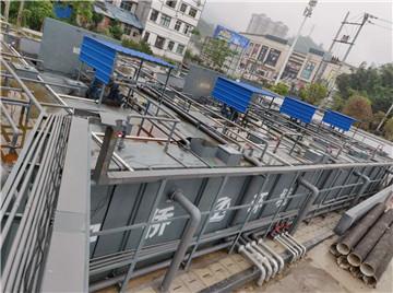 安徽2000t生活污水一体化处理设备